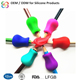 Wholesale Handing Protecting Soft Colorful Silicone Rubber Pencil Grip