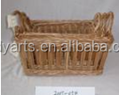Willow Storage basket / wicker weaving basket with handle HDww-0040