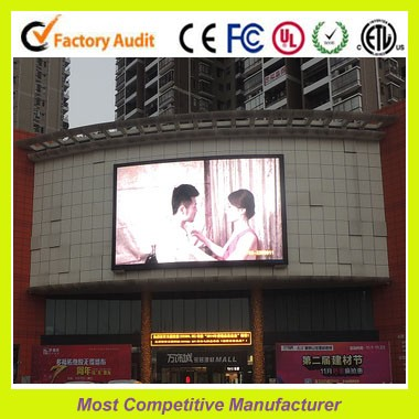 Big Advertising Billboard price Digital Electronic P6 P8 P10 P16 Indoor Outdoor LED Panel/LED Signage/LED Sign