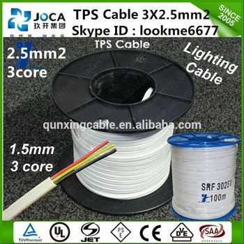 New Design Different Color Electrical Wire Flat Cable 20awg - Buy ...