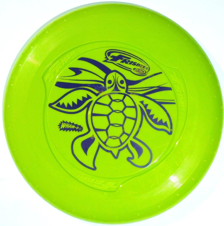 Wham-O Fun Flyer Frisbee Disc Green Sea Turtle