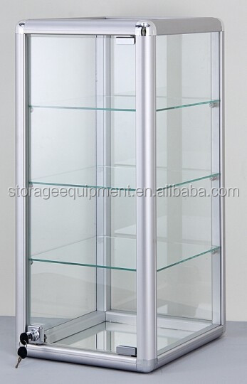 fashionable table top display case for store