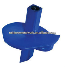 ground screw anchors for power poles