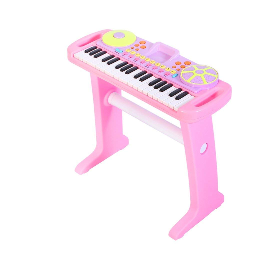 DUWEN Keyboard Children's Keyboard Music Early Education Multifunction Gift 37 Keys (Color : Pink)