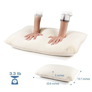 Bamboo Shredded Memory Foam & Cool Gel Pillow Orthopaedic Head Neck Back Support