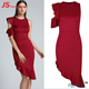 JS32-AM109 2018 Fashion Elegant One Shoulder Ladies Bodycon Evening Dress