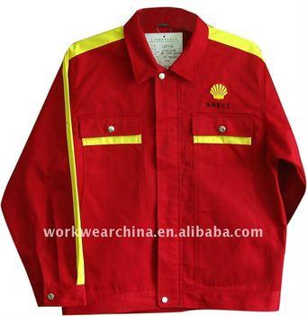 Red/yellow Shell Antistatic Uniform