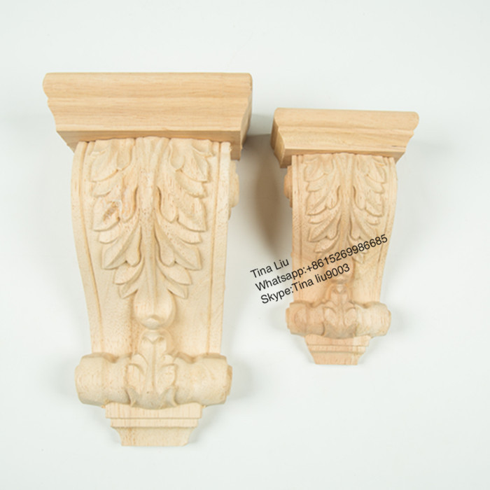 Carved cheap wood corbel