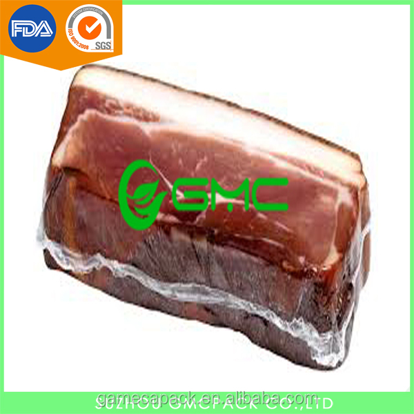 Co-extruded Plastic Vacuum Food Packaging Nylon Bag for Processed Meat