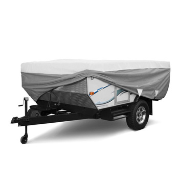 Waterproof Travel Non-woven Fabric Easy Removal Pop Up Trailer Cover