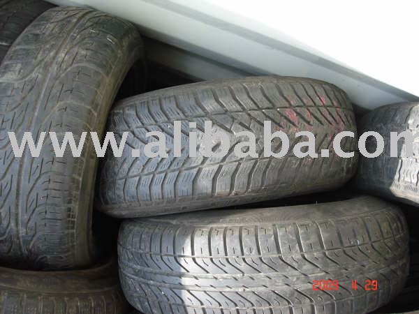 USED CAR TIRES $4.99 USD INCLUDE SHIPPING TO USA