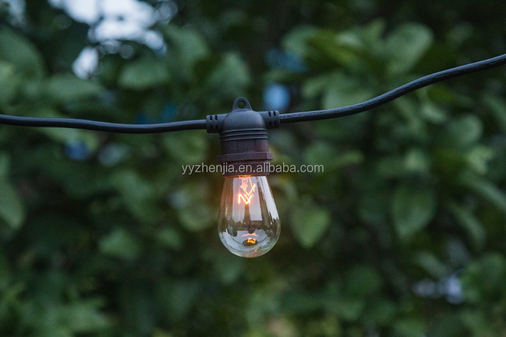 string lights E26 party lights outdoors 10 sockets decorative lamps