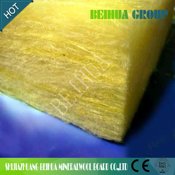 Chinese thermal and acoustic insulation for commercial and industial buildings glass wool