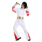 Party Costumes Elvis Presley Aloha Eagle White Jumpsuit Top Quality Elvis Costumes