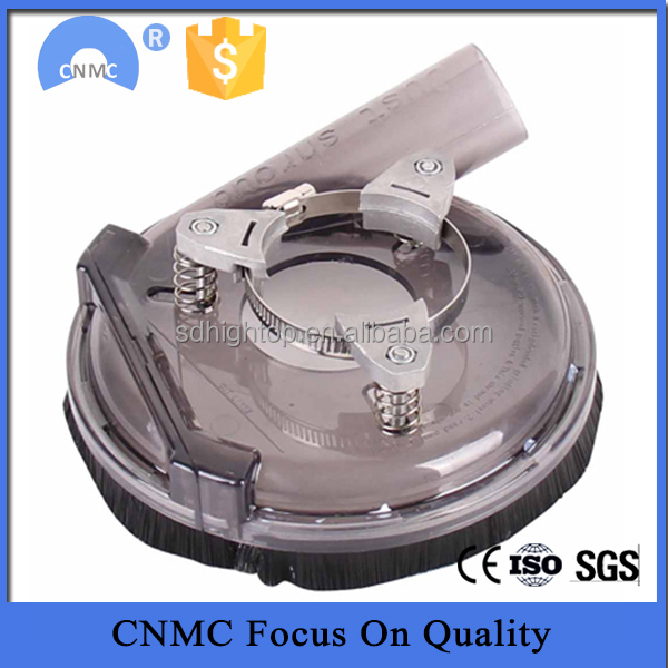 "5"" and 7"" Plastic Transparent Dust cover for grinder"