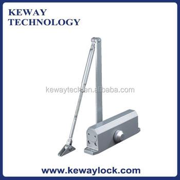 hot selling door closer with 90 degree hold open function overhead hydraulic door closer