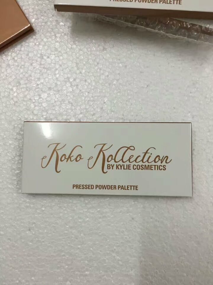 2017 kylie KOKO Kollection Palette Highlighter Blush Eyeshadow Blush Palette in stock DHL Free