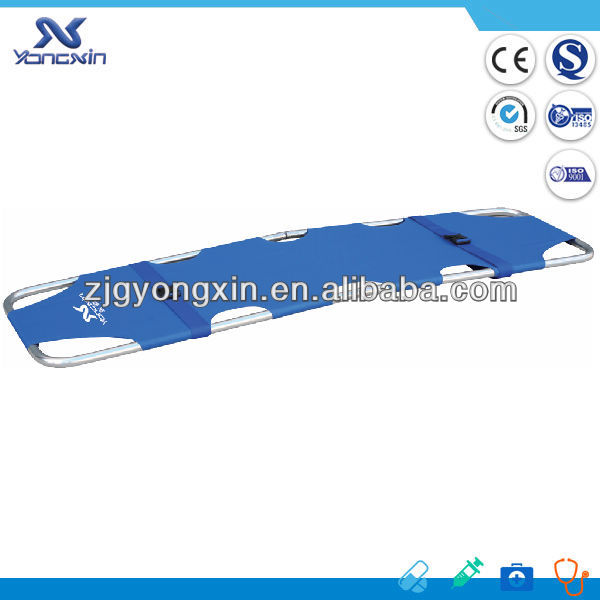 YXZ-D-A1 CE ISO Aluminum Alloy Foldaway Stretcher Hospital Gurney Stretcher Bed For Sale