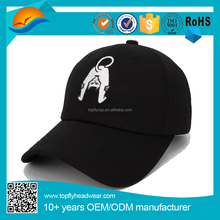 100% cotton 3d embroidery dad cap custom milinery baseball cap