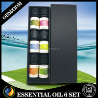 Essential Aroma Oil Natural Fragrance Aromatherapy Diffuser Oils - Set of 6