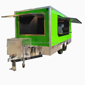 2018 China catering donut kiosk food trailer truck