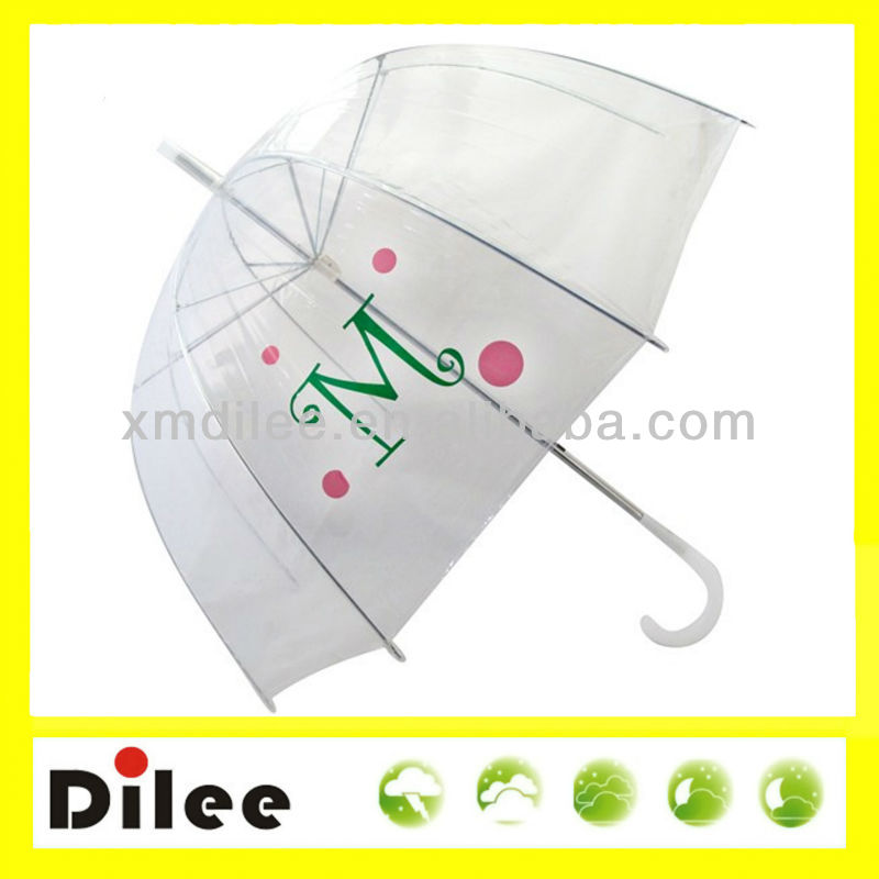 cheap dome transparent umbrella