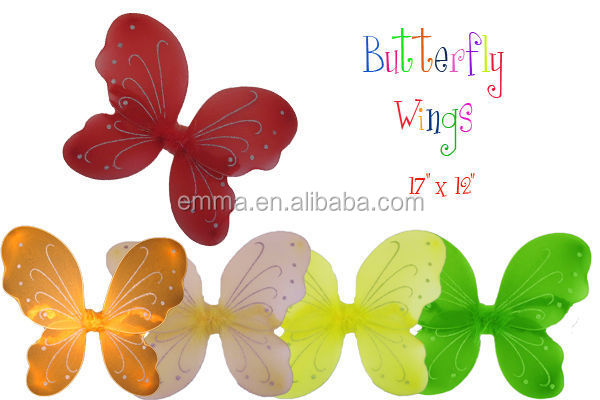 Girls ladies carnival party decoration buterfly wings wholesale WG2023