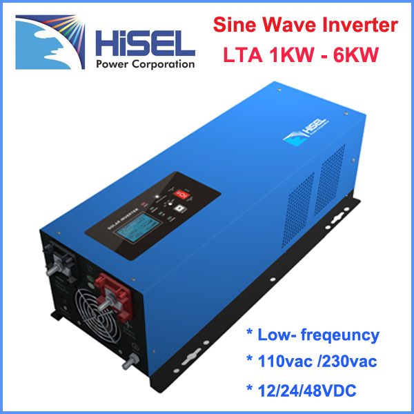 HiSEL 2000W pure sine wave power inverter 24v 220v