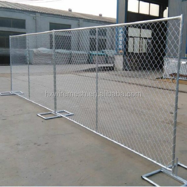 6 X 8 Chain Link Temporary Fence Panels With T Base
