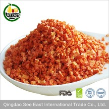 HACCP A Grade Air Dried Dehydrated Carrots For Healthy Food