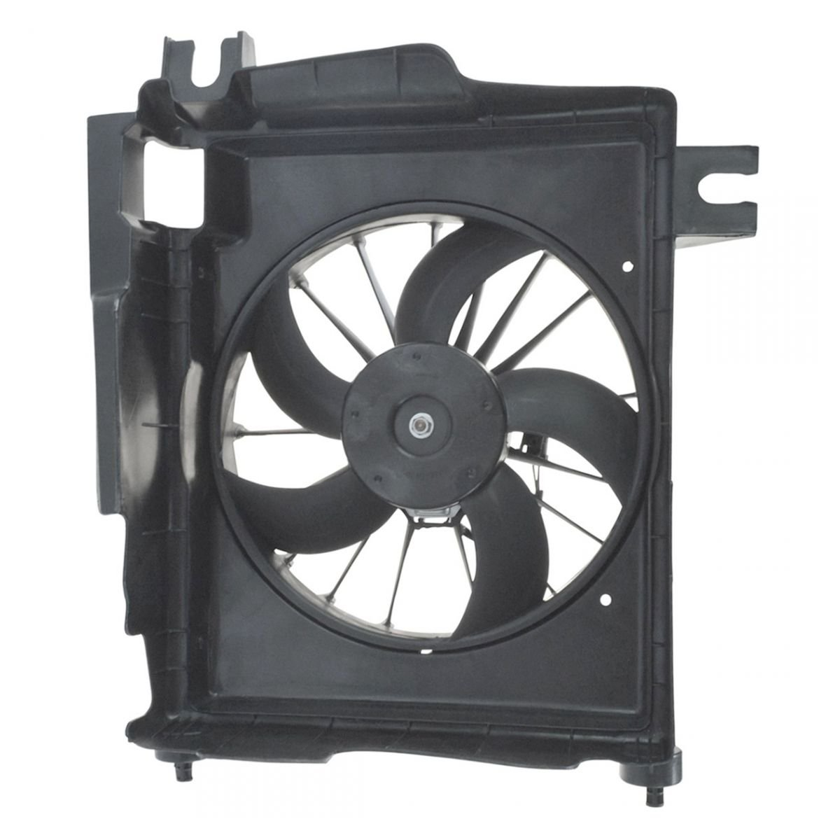 Radiator A/C AC Condenser Cooling Fan & Motor for Dodge Ram Pickup Truck