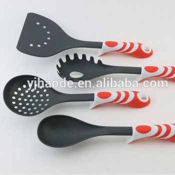 high quality and new design handle 8pc kitchen utensil