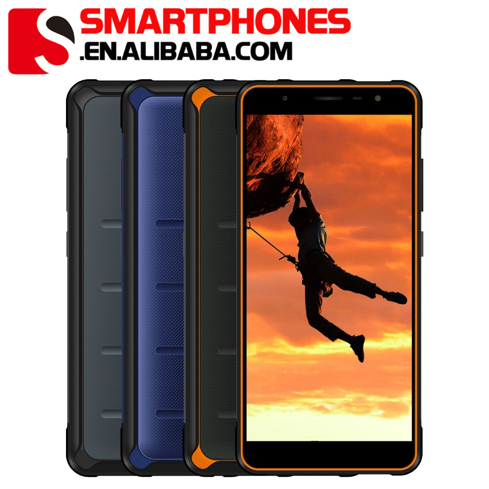 POPTEL P10 Helio P23 Android 8.1 IP68 Rugged Smartphone 5.5inch 4GB 64GB 3600mAh 13MP+8MP Fingerprint NFC Dual 4G Mobile Phone