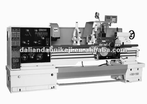 CDS 6150B hardened and ground guideways Horizontal Lathe with new design exterior