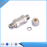 Stainless Steel Hydraulic Instrument Poppet Check Valve