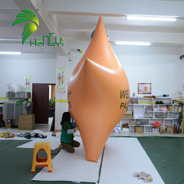 Customized Inflatable Five Pointed Star Model Shape Balloons For Sale