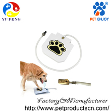 High quality heavy gauge doggie paw encourages dog drinking water fountain