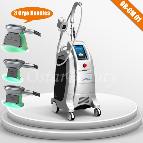 (4 CRYO handles) fat freeze liposuction cryolipolysis equipment
