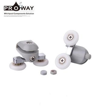 Plastic Bearing Roller/runners/pulleys For Shower Adjustable Sliding on
