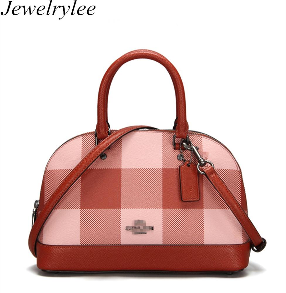 Plaid Handbag Whole Tote