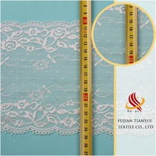High Quality Popular White Polyamide Cheap New Dress Lace