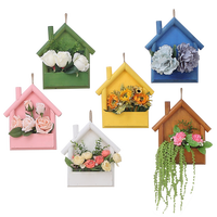 flower wooden wall hangings for home decor