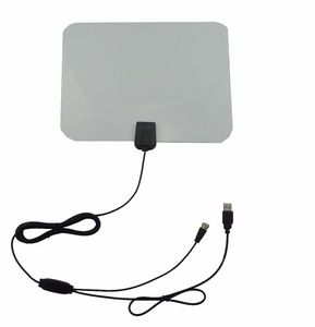 Flat Indoor HDTV Antenna UHF/VHF DVB-T Digital TV Antenna