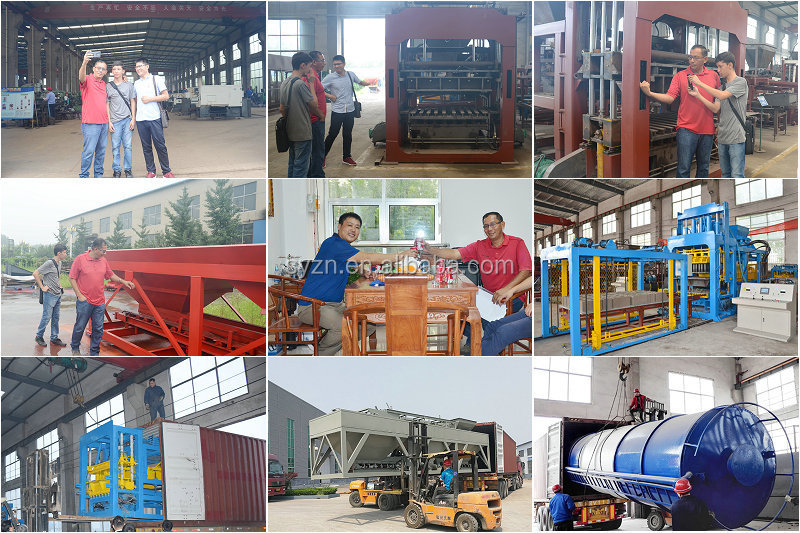QT10-15 saudi arabia concrete block making machine price/cement brick manufacturing plant