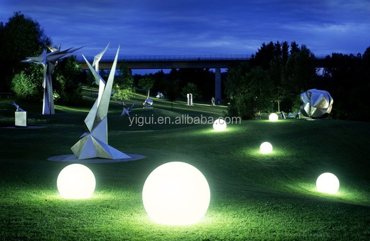 Led Light Balls Multi Color Changing Balls Outdoor Plastic