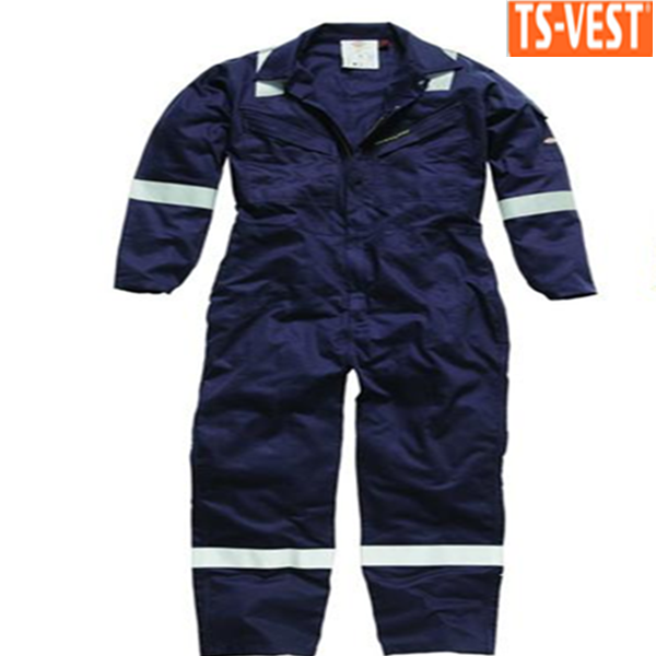 High Visibility Reflective Working Fire Retardant Coverall Suit for Oil or Gas