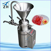 vertical split colloid mill products jm-130 almond butter colloid mill