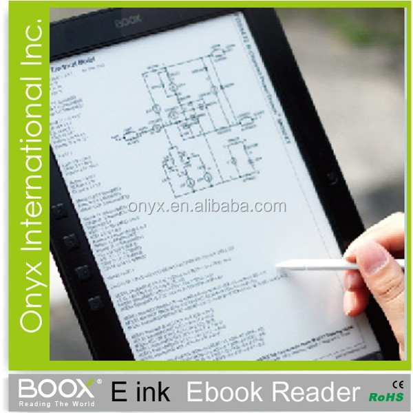 new product of china e book reader 10 inch with pen writing