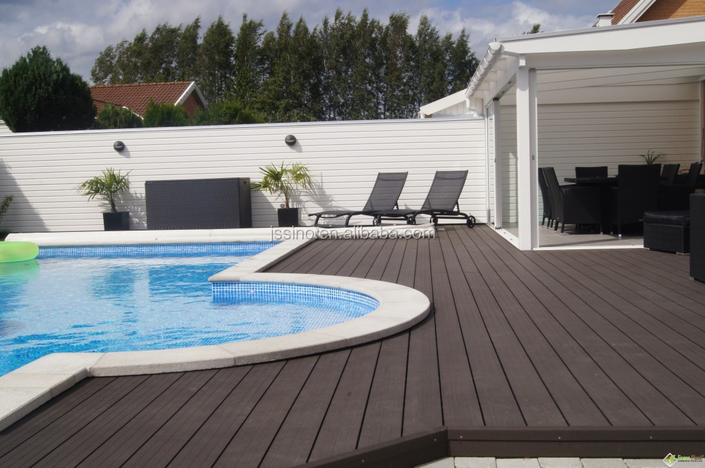 Tongue And Groove Wpc Composite Decking Polywood Lumber