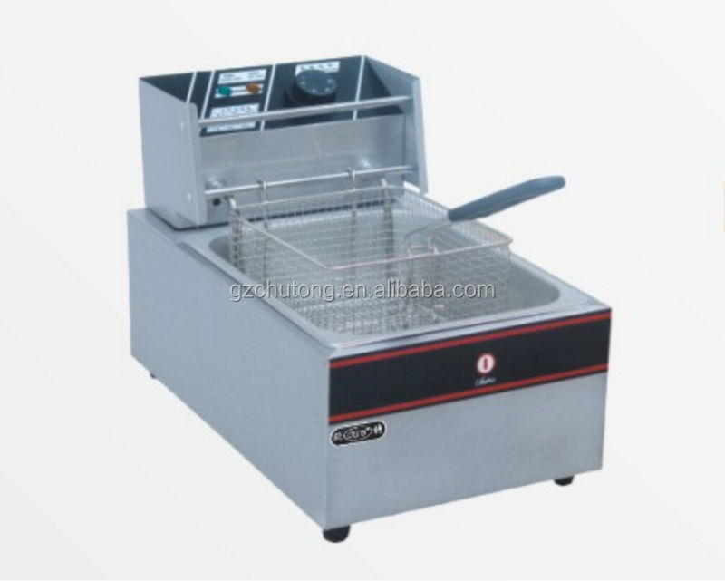 Electric Fryer/Industrial Stainless Steel Counter Top kfc Potato Electric Fryer